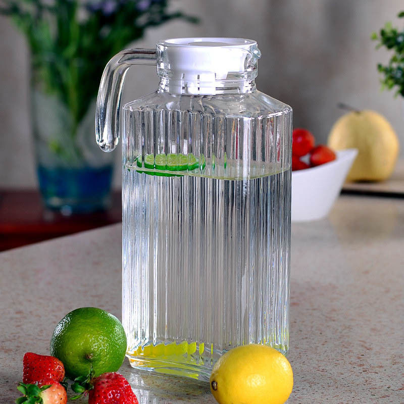 1800ml/60oz Glass Serving Pitcher Environmental Friendly Glass Material
